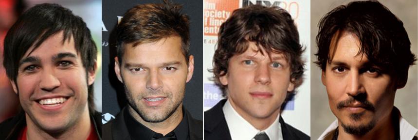 diamond face shape hairstyles for men